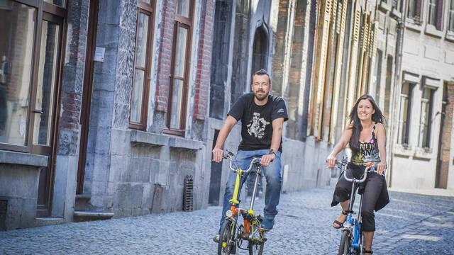 Radfahrer Willkommen