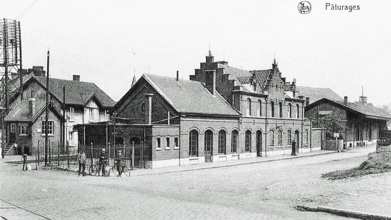 Alter Bahnhof von Pâturages
